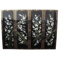 Blossom Set of 4 Wall Hangings