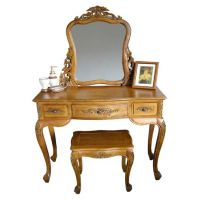 French Style Handcarved Lindenwood Furniture - Teak