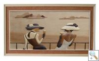 High Society 3D Handcarved Wooden Pictures