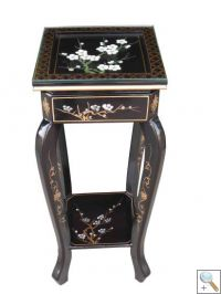 Hand Painted Blossom Plant Stand