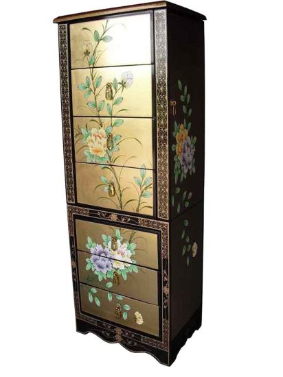 gold leaf floral jewellery armoire welcome to grand