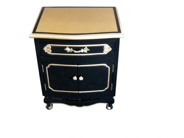 Black Gold Leaf Side Cabinet Welcome To Grand