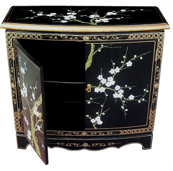 Hand Painted Blossom 2 Door Cabinet Welcome To Grand