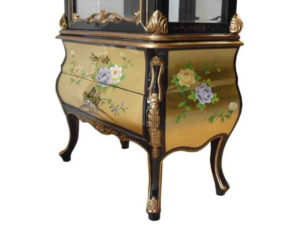 Display cabinet with mirror welcome to grand for International decor furniture